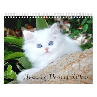 Calendario acogedor de los gatitos