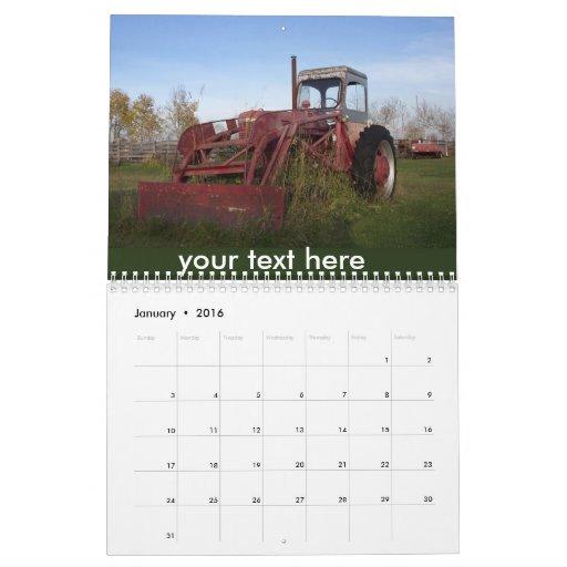 Calendario adaptable - escenas del país