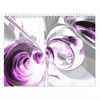 Calendario adaptable V1 del arte abstracto