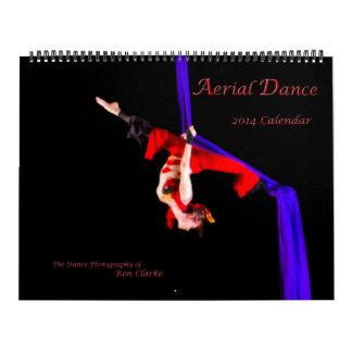 Calendario aéreo de la danza 2014