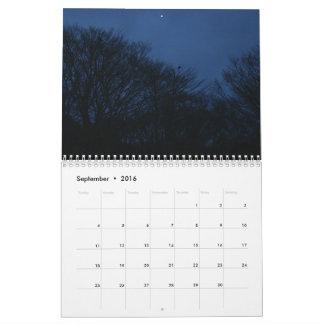 Calendario al aire libre 2016 de la Corea del Sur