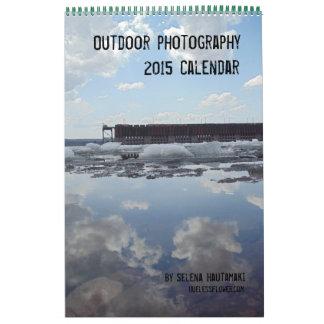 Calendario al aire libre de la fotografía 2015
