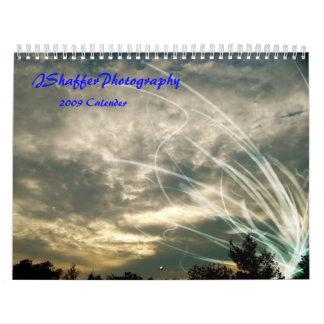 Calendario al aire libre de las escenas 2009