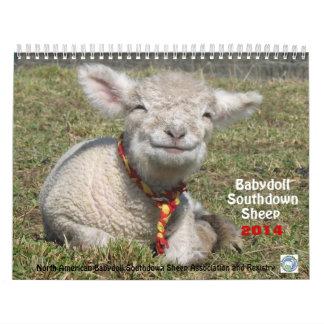 Calendario al sur de las ovejas 2014 NABSSAR de la