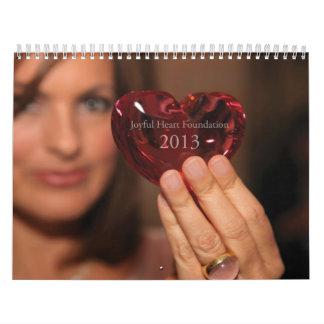 Calendario alegre del corazón 2013