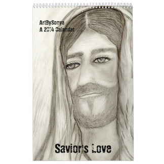 Calendario alto 2014 del amor del salvador