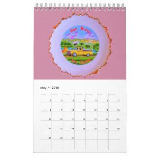 Calendario americana no básico nacional de 12
