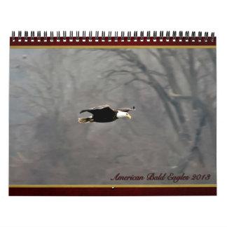 Calendario americano 2013 de Eagle calvo