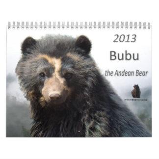 Calendario andino 2013 de la fundación del oso