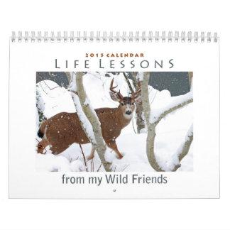 Calendario animal 2015 - nuevas lecciones de la