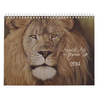 Calendario animal del arte 2014