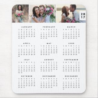 Calendario anual mínimo Mousepad