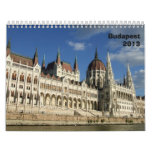 Calendario arquitectónico de Budapest - 2013