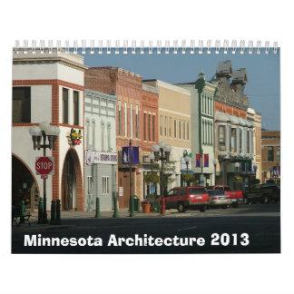 Calendario arquitectónico de Minnesota - 2013