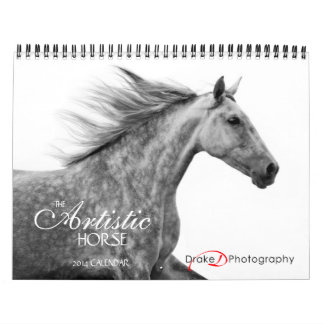 Calendario artístico del caballo 2014