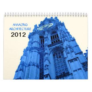 Calendario ASOMBROSO de la ARQUITECTURA