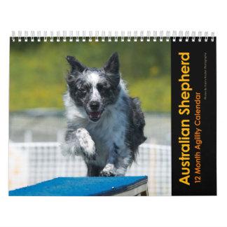 Calendario australiano de la agilidad del pastor