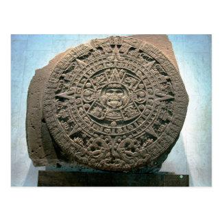"""Calendario azteca de Sun,"" Ciudad de México Postal"