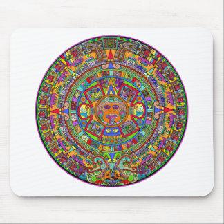 Calendario azteca mouse pad