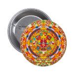 Calendario Azteca Pin Redondo 5 Cm