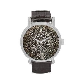 Calendario azteca relojes