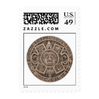 Calendario azteca sellos