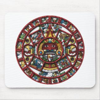 Calendario azteca tapetes de ratones