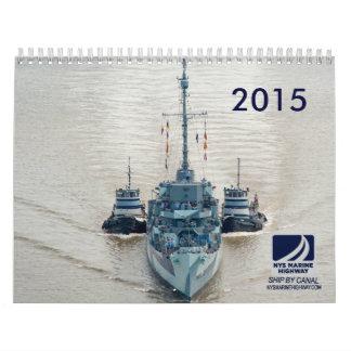 Calendario - barcos marinos del tirón de NYS -