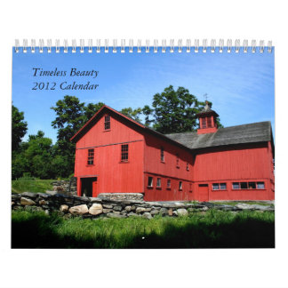 Calendario, belleza intemporal 2012 calendario