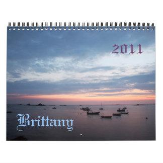 Calendario Bretaña, Francia 2011