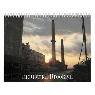 Calendario: Brooklyn industrial Calendario De Pared