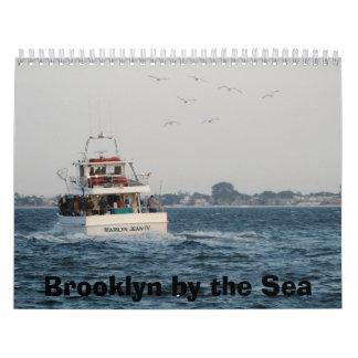Calendario: Brooklyn por el mar