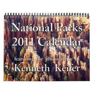 Calendario - calendario de 2011 parques nacionales