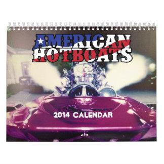 Calendario caliente americano de 2014 barcos