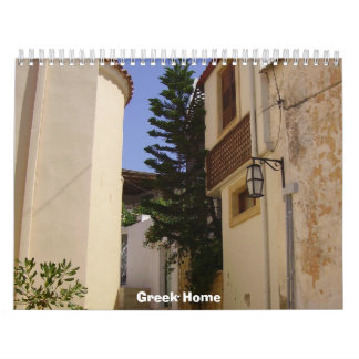 Calendario casero de 2012 Griegos