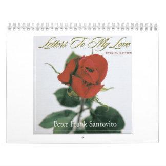 Calendario CD de la cubierta de LettersSE