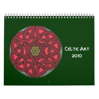Calendario céltico del arte 2010