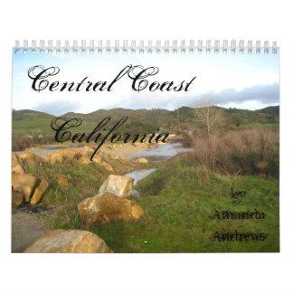 Calendario central de California 2011 de la costa