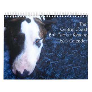 Calendario central del rescate 2013 de bull terrie