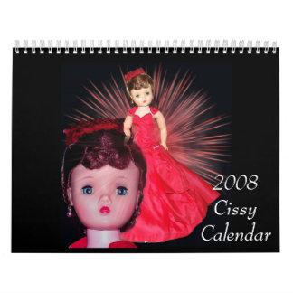 Calendario Cissy 2008 - modificado para requisitos