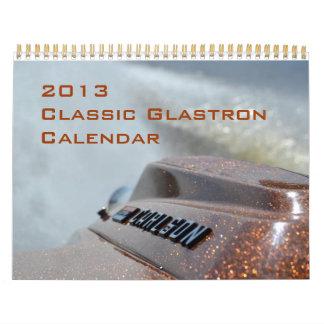 Calendario clásico de 2013 CGOAMN Glastron