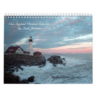 Calendario clásico de Nueva Inglaterra