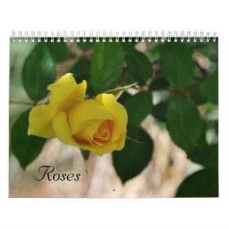 Calendario color de rosa