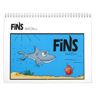 Calendario cómico 2011 de las aletas