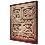 Calendario con cuatro glyphs, Toltec Impresión En Lona