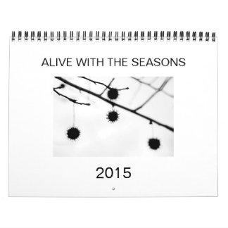 Calendario con extremidades útiles y imágenes