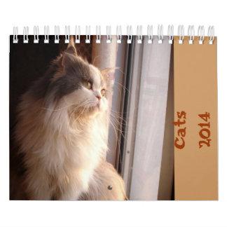 Calendario con los gatos - modificados para