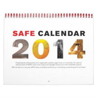 Calendario conmemorativo de la CAJA FUERTE 2014