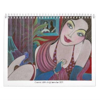 Calendario cósmico 2011 del arte de Lilith