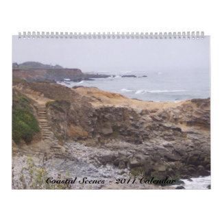 Calendario costero de las escenas 2012